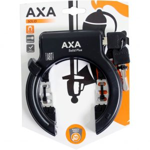 Axa ringslot Solid Plus zwart kopen bij FlorisFietsen in Hoogezand