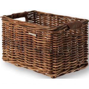 Basil mand riet Dorset M brown kopen bij FlorisFietsen in Hoogezand