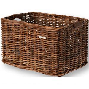 Basil mand riet Dorset L brown kopen bij FlorisFietsen in Hoogezand