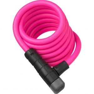 Abus kabelslot Primo 5510K/180 pink SCMU kopen bij FlorisFietsen in Hoogezand