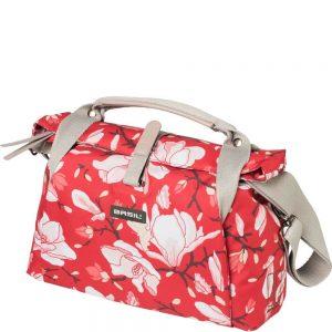 Basil stuurtas Magnolia poppy red kopen bij FlorisFietsen in Hoogezand
