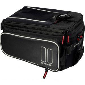 Basil dragertas Sport design trunkbag zwart kopen bij FlorisFietsen in Hoogezand