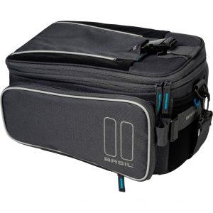 Basil dragertas Sport design trunkbag graphite kopen bij FlorisFietsen in Hoogezand