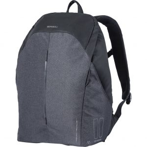 Basil backpack B-safe led graphite black kopen bij FlorisFietsen in Hoogezand