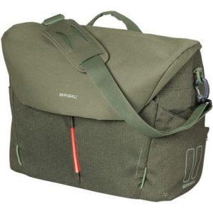 Basil laptoptas B-Safe Commuter Nordlicht olive groen kopen bij FlorisFietsen in Hoogezand