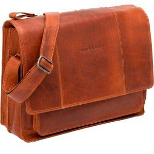 New Looxs laptoptas Fellini leer cognac kopen bij FlorisFietsen in Hoogezand