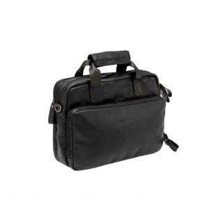 New Looxs laptoptas Cali leer zwart kopen bij FlorisFietsen in Hoogezand